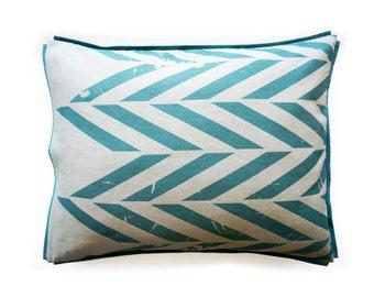 natural pillowcases aqua color printed pillow cases cotton and linen pillow shams king pillowcases