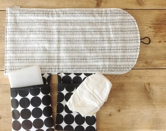 Travel Changing Pad - Diapering on the Go - Cole Design