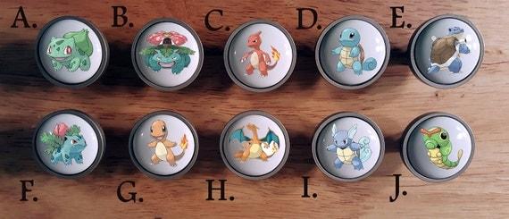 Boutons de pokemon aller bouton commode de chambre coucher - Bouton de commode ...