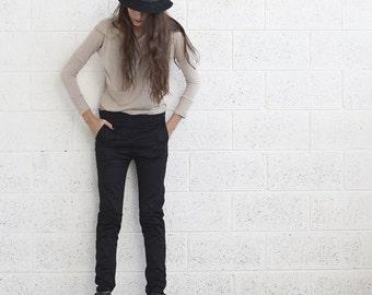 Halloween Sale Summer Sale Now 20% Off  ,Skinny black pants, Black.