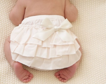 baby Diaper cover - Baby Diaper Cover - Ruffle diaper cover -  Diaper cover - Photoprop - Ruffle  Bloomers - Newborn prop - Toddler