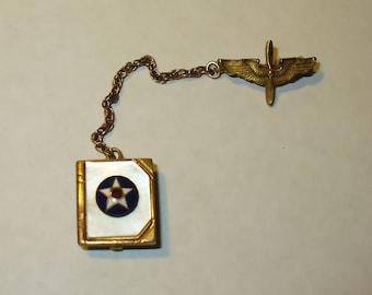 WW II  Air Force Cadet Homefront Sweetheart Memento Pin