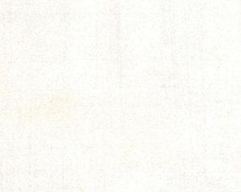 Fabric by the Yard-Grunge Basics in Vanilla-Basic Grey for Moda