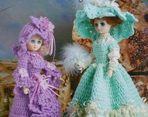 20%OFF Annie's Attic PASTEL PROMENADE Pretties By Alexander Stratton - Crochet Doll Pattern