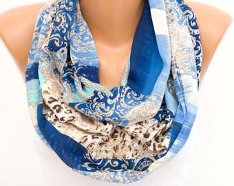 SALE Real SILK  scarf Infinity scarf,Loop scarf, scarf ,