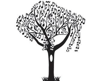 Music Buffalo Tree - White Matt
