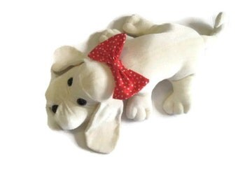Handmade Pound Puppy Type Stuffed Dog