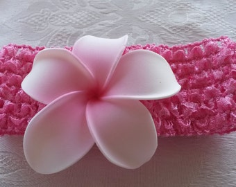 Hawaiian flower headband