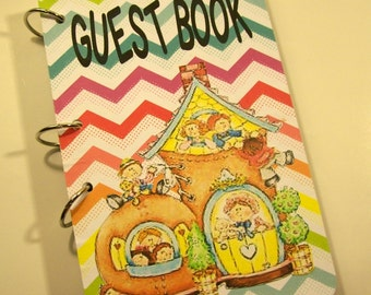 Guest Book, Nursery Rhyme Party Guest Book, Nursey Ryhme First Birthday, Mother Goose Party Guest Book, Baby Shower, Party Guest Book