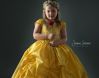 Belle inspired by Beauty and the Beast - Straight out of a fairytale dress