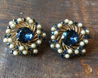1960sdesigner Judy Lee earrings
