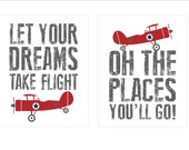Airplanes-two 8x10 prints