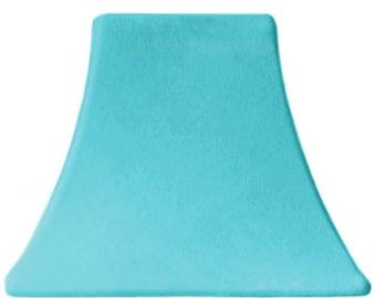 Aqua Velvet - SLIP COVERS for lampshades