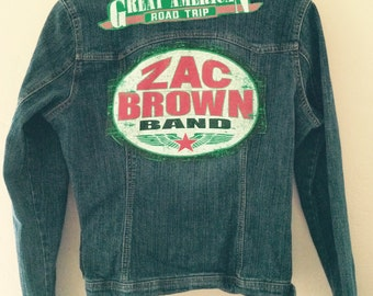 Zac Brown Band Denim Jacket