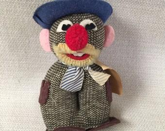 1960's Hobo Joe - Who Me Worry? KNIT WIT Doll Vintage  Original Hang Tag  Stuart Inc