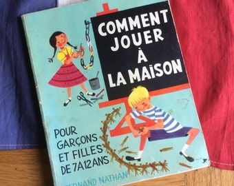 1950's French Children's primary school book