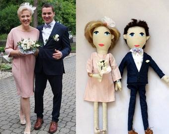 2 Custom Dolls - Personalized dolls - Dolls Couple