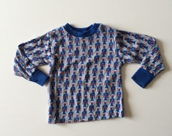 1970's Toy Soldier Knit Top (2t)