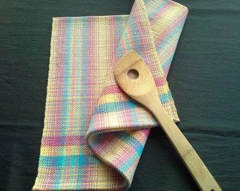 Handwoven Colorful Cotton Kitchen Towel (1224C)