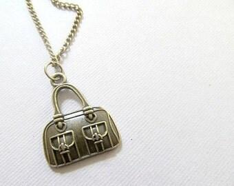 Handbag Charm Necklace