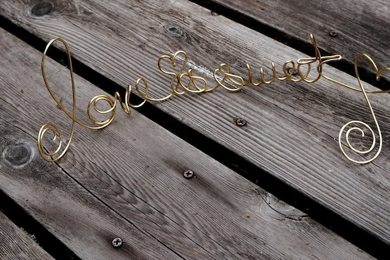 Engagement Party Decor, Bridal Shower Decorations, Love Is Sweet Table Sign