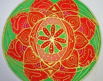 Sacral chakra mandala art, spiritual gift, chakra mandala, sacral chakra art, meditation art, spiritual art, yoga art, reiki , metaphysical