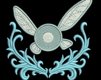 Zelda Machine Embroidery design - EMBELLISHED NAVI FAIRY 4x4