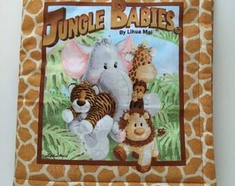 Jungle Babies Fabric Book