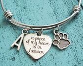 pet memorial jewelry, sympathy gift, personalized pet loss gift, memorial gift, loss of pet, cat loss gift, dog loss gift, pet remembrance