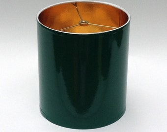 High Gloss Dark Green Lamp Shades