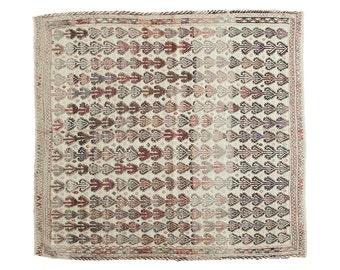 4x4.5 Vintage Jijim Square Rug
