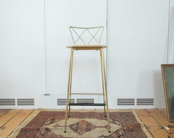 DISCOUNTED Vintage Hollywood Regency Stool