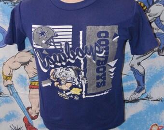 Vintage 1990s Dallas Cowboys Cartoon Shirt!!!