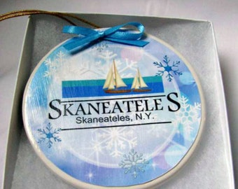 Cooperate Holiday Ornament - Business Holiday gift - Christmas Gift for customers - Business holiday idea