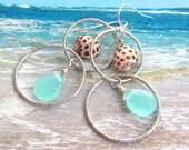 Meet Me at the Beach Shell Earrings