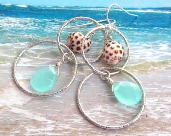 Meet Me at the Beach Shell Earrings