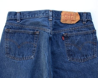 vintage Men's Levi Levi's 501  button fly made in usa Jeans sz 36 x 36 excellent condition