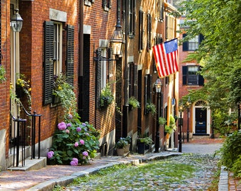 Photograph of Beacon Hill, Boston