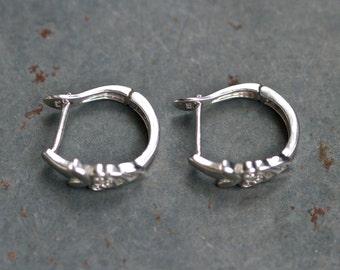 Sterling Silver Hoop Earrings - Small