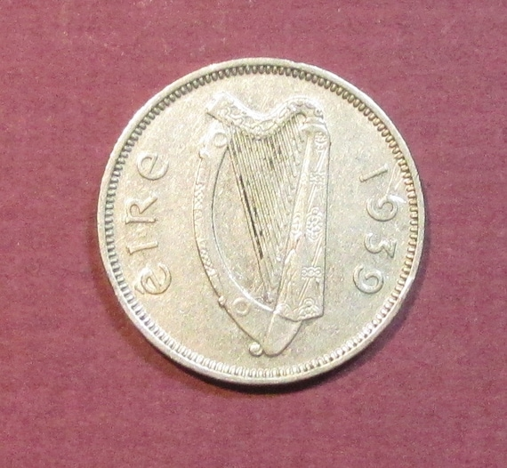 Ireland sixpence, 1939, Irish Wedding 6 pence, world coin, six pence ...