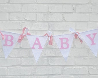 Baby Shower Backdrop - baby shower banner - girl baby shower - boy baby shower - baby shower decor- baby banner - baby shower girl banner