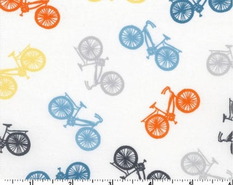 Cycles of Life - Cruisers White by Kristen Berger from Maywood Studio