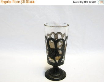 Valentine SALE Antique Sterling Overlay Aperitif Chalice