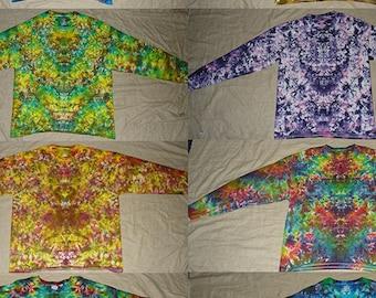 Yummy Tie-Dyes Custom Colors Hanes Tagless Long Sleeve 6.1 oz (S-XL)
