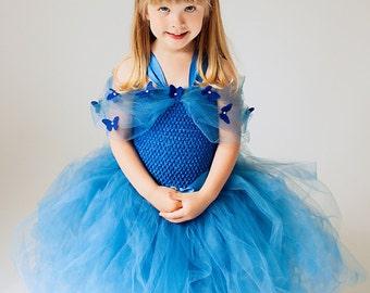 Cinderella Dress- Disney Princess Dress - New Cinderella Blue princess costume - Princess Dress - Blue Dress Cinderella - Costume Cinderella
