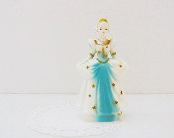 Vintage Cinderella Figurine, Disney Plastic Cinderella Cake Topper, Disney Princess Figure