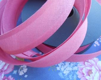 """Bias Tape Binding Petal Pink 1""""width 10Yards"""
