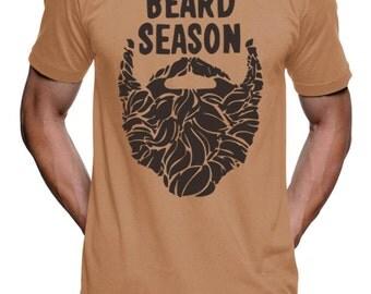 Beard Season T-Shirt - Mens Tshirt - S M L Xl 2X (9 Color Options)