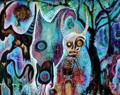Sassafrass Roots - Magic the Gathering Playmat / Giant Mousepad