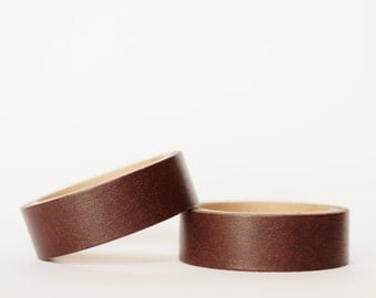 MINI 5M Solid Chocolate Washi Tape